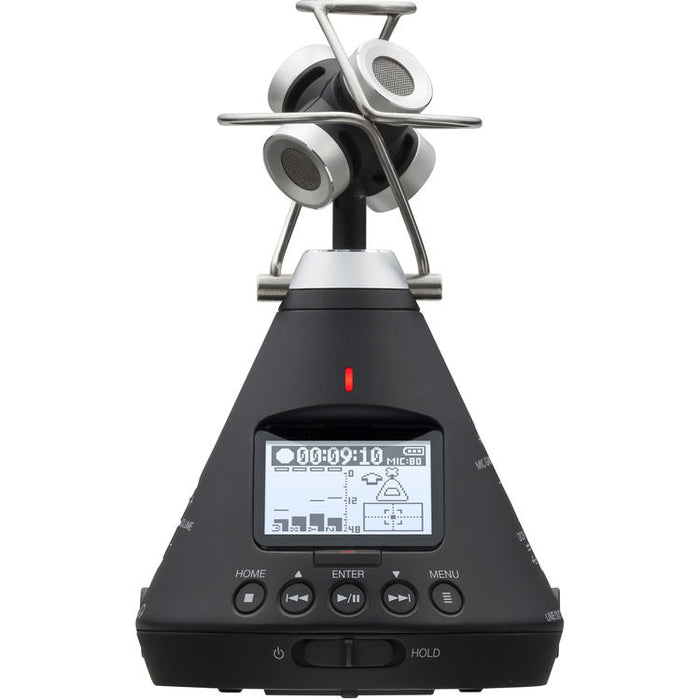 Zoom H3-VR Handy Audio Recorder with Built-In Ambisonics Mic Array