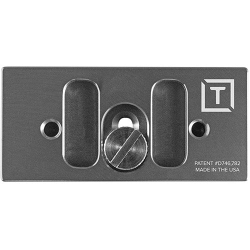 TetherBLOCK QR Plus Quick Release Plate - Thunder Gray