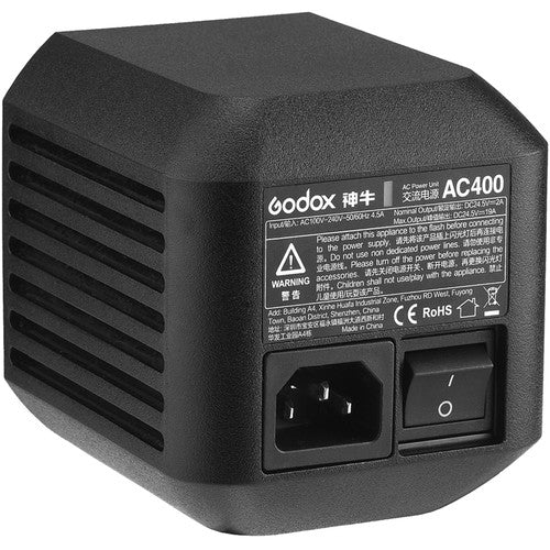Godox AC Adapter for Witstro AD400Pro Monolight