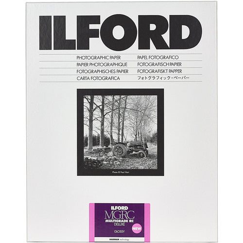 Ilford MULTIGRADE V RC Deluxe Paper, Glossy, 11 x 14 - 10 Sheets