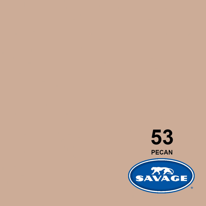 "Savage Seamless Background Paper, 86"" x 36' - #53 Pecan"