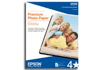 Epson Premium Photo Paper Glossy A3 - 20 Sheets