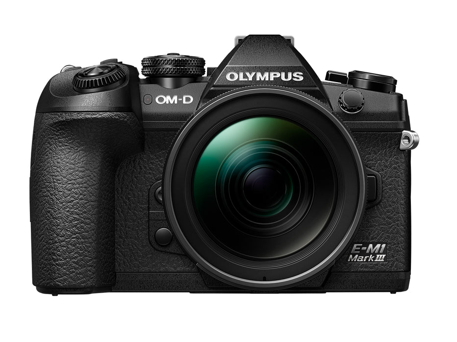 Olympus OM-D E-M1 Mark III with 12-40mm Lens