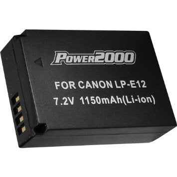 Power2000 LP-E12 Battery Canon