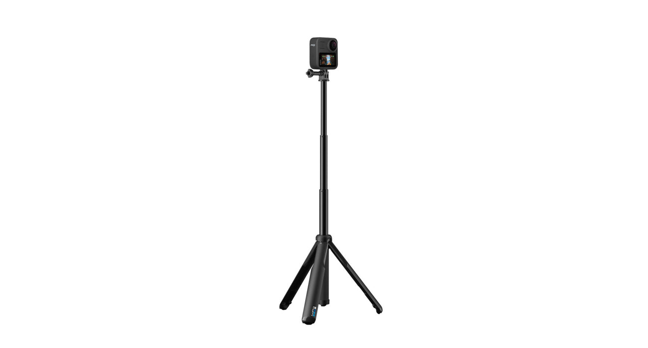 GoGoPro Grip Extension Pole with Tripod for GoPro HERO and MAX 360 Cameras