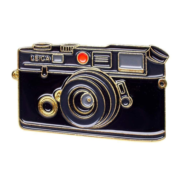 Rangefinder #1 Gold Camera Pin