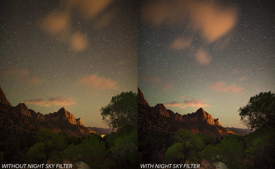 Breakthrough Photography 67mm Night Sky Filter