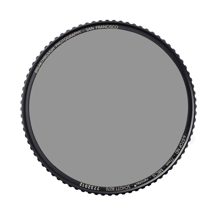 Breakthrough Photography 82mm X4 Solid Neutral Density 1.8 Filter - 6 Stop
