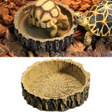 Reptile Tortoise Water Dish Food Bowls Toy