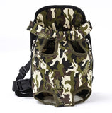 Mesh Pet Dog Carrier Backpack Breathable Camouflage Outdoor Travel Products Bags