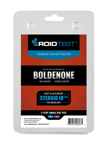 Boldenone Test Kit tests for boldenone decanoate and boldenone undecylenate