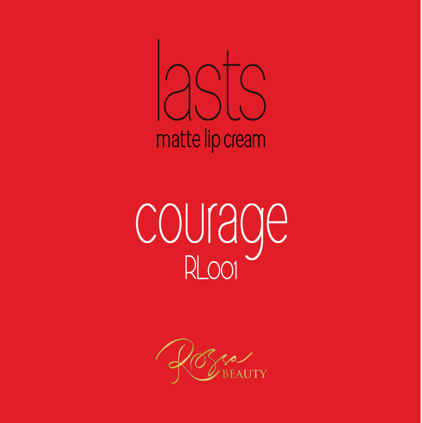 Rossa Beauty Lasts Matte Lip Cream – Courage