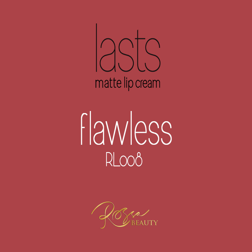 Rossa Beauty Lasts Matte Lip Cream – Flawless