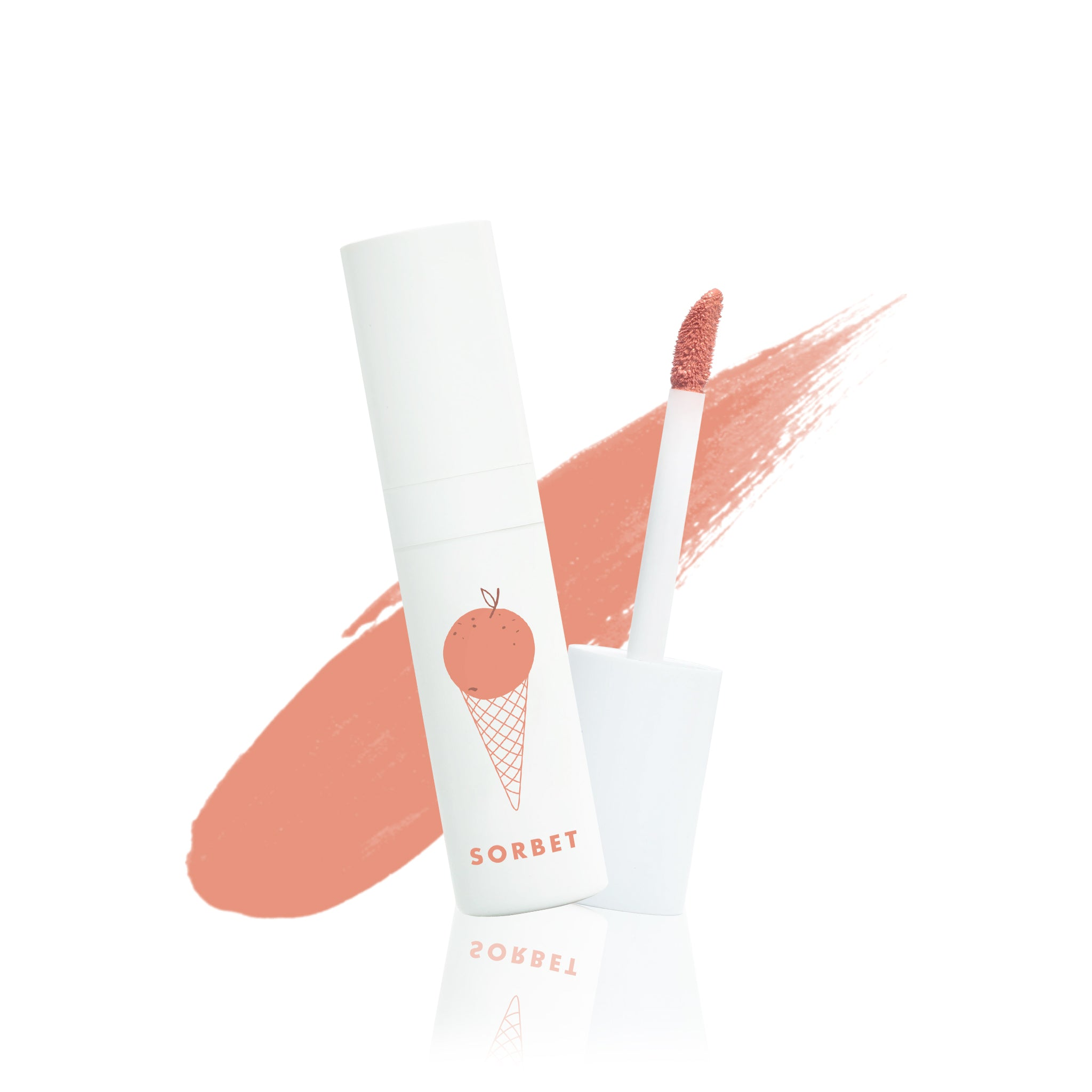 Rossa Beauty Lip Cheek Eye Sorbet – Creamy Peachy