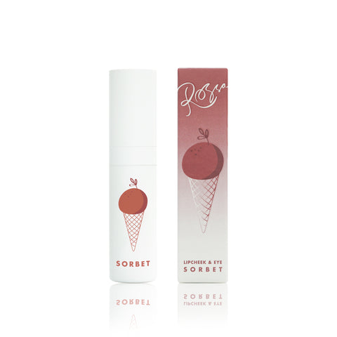 Rossa Beauty Lip Cheek Eye Sorbet – Sexy Tamarind