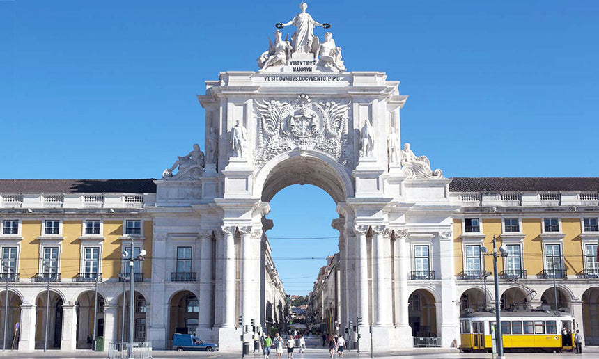The Arch in Rua Augusta