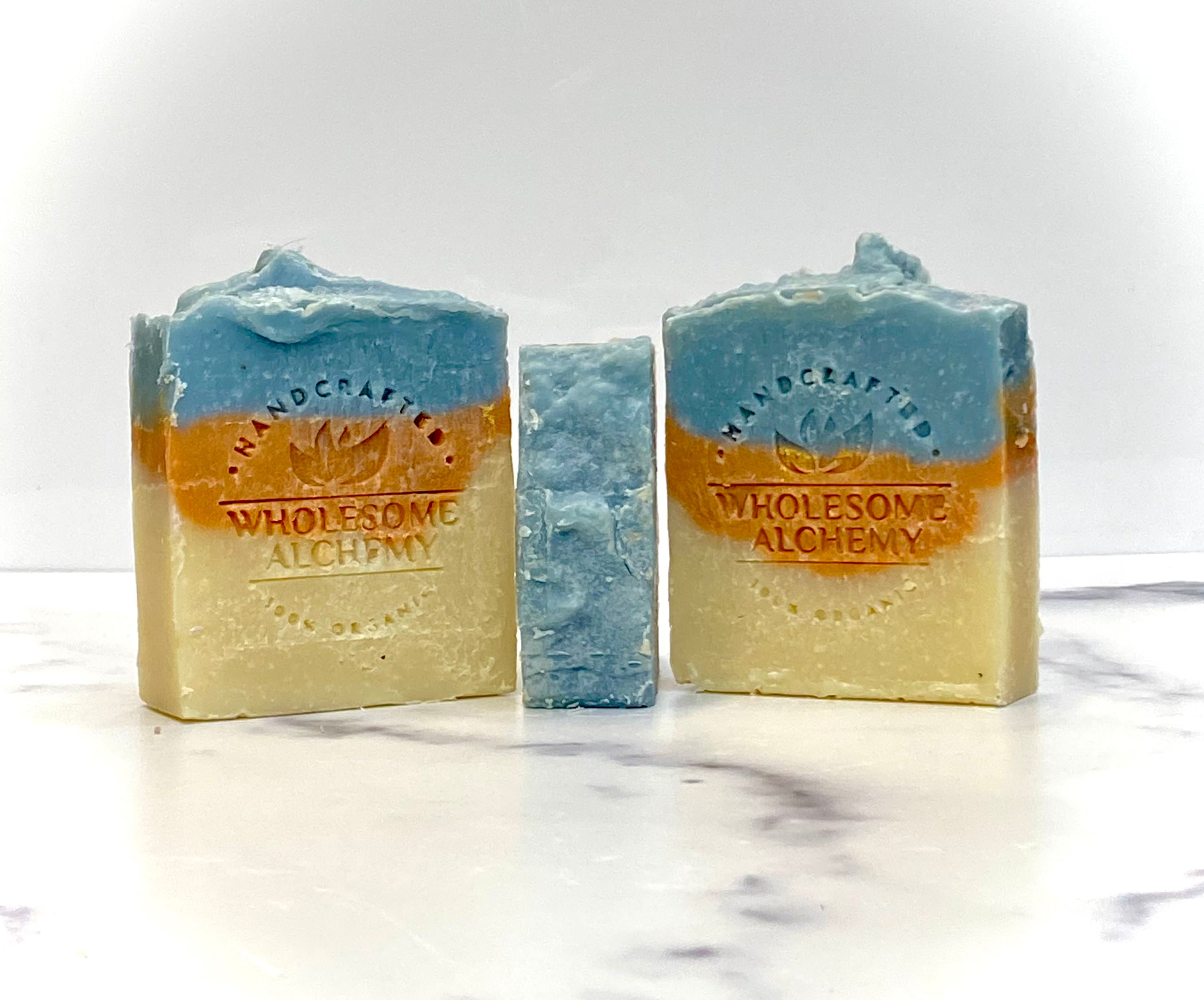 Organic Ayurveda Essential Oil Body Soap (Inspired Intuition: Lemongrass and Peppermint)