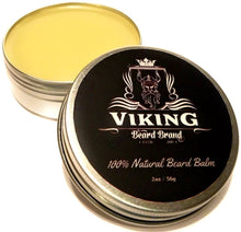 Load image into Gallery viewer, viking beard brand all natural beard balm for men