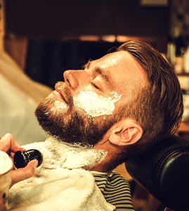 viking beard brand sandalwood shaving cream