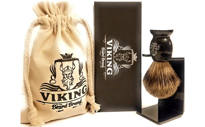 Viking Beard Brand Badger Hair Shaving Brush