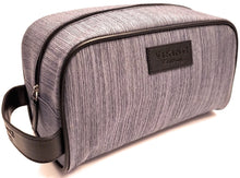 Load image into Gallery viewer, men's travel shaving toiletry bag