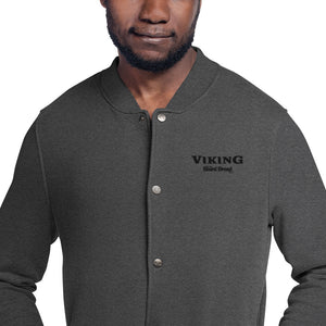 Viking Beard Brand Embroidered Champion Bomber Jacket