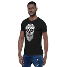 Load image into Gallery viewer, Short-Sleeve Sugar Skull T-Shirt
