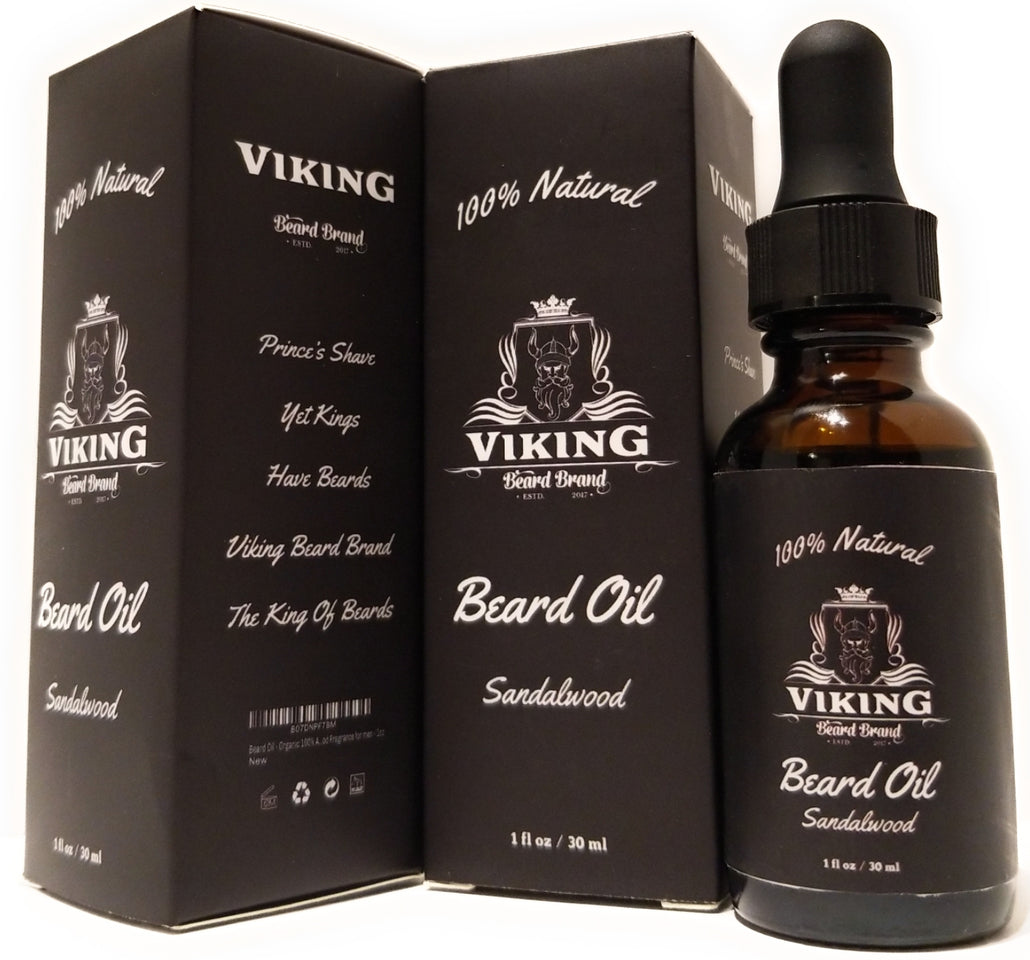 Organic Sandalwood Beard Oil