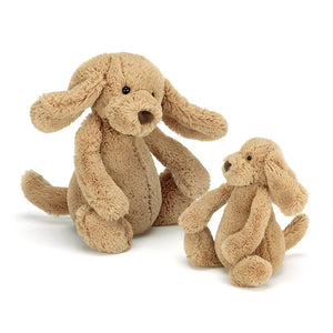 JELLYCAT Bashful Toffee Puppy Medium