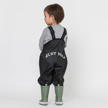 Load image into Gallery viewer, CRYWOLF Rain Overalls Black