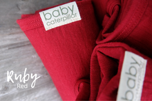 Load image into Gallery viewer, BABY CATERPILLAR - Merino fitted wrap (Standard Weight)