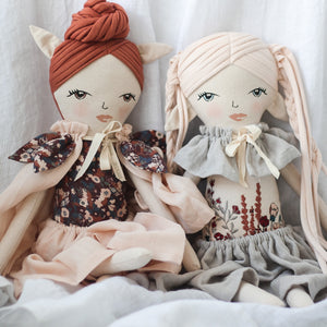BURROW & BE Sophia Pixie Doll