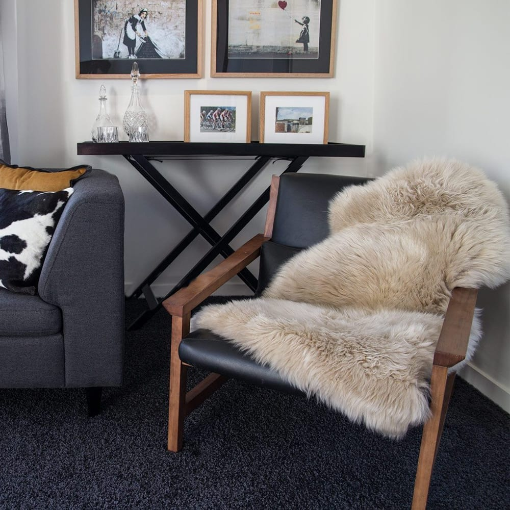 BOWRON Sheepskin Rugs - One & Half Piece