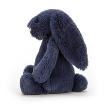 Load image into Gallery viewer, JELLYCAT Bashful Navy Bunny Small