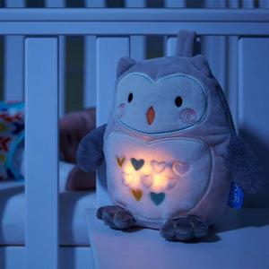 TOMMEE TIPPEE Grofriend Ollie the Owl - Light and Sound Rechargeable Sleep Aid