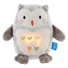 Load image into Gallery viewer, TOMMEE TIPPEE Grofriend Ollie the Owl - Light and Sound Rechargeable Sleep Aid