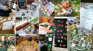 Children of different ages and abilities learning through play using Teddo Play Cards