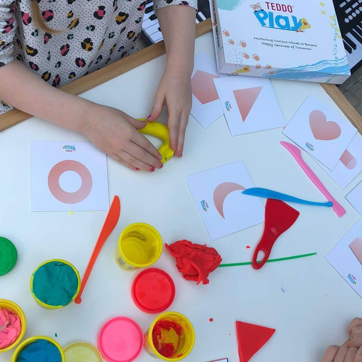 Playdough Shapes Learning Set