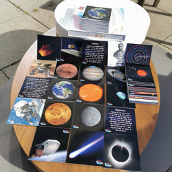 Space In A Box (Lesser-known Facts Edition) - Set of 40 Learning Cards