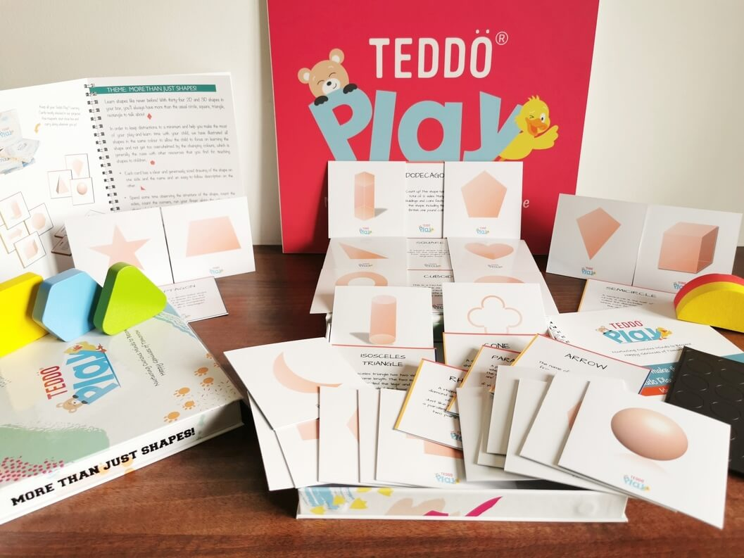 2D and 3D Shapes Learning Set