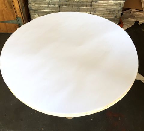 "30"" Round Table Paper 10x10x37 45lbs"