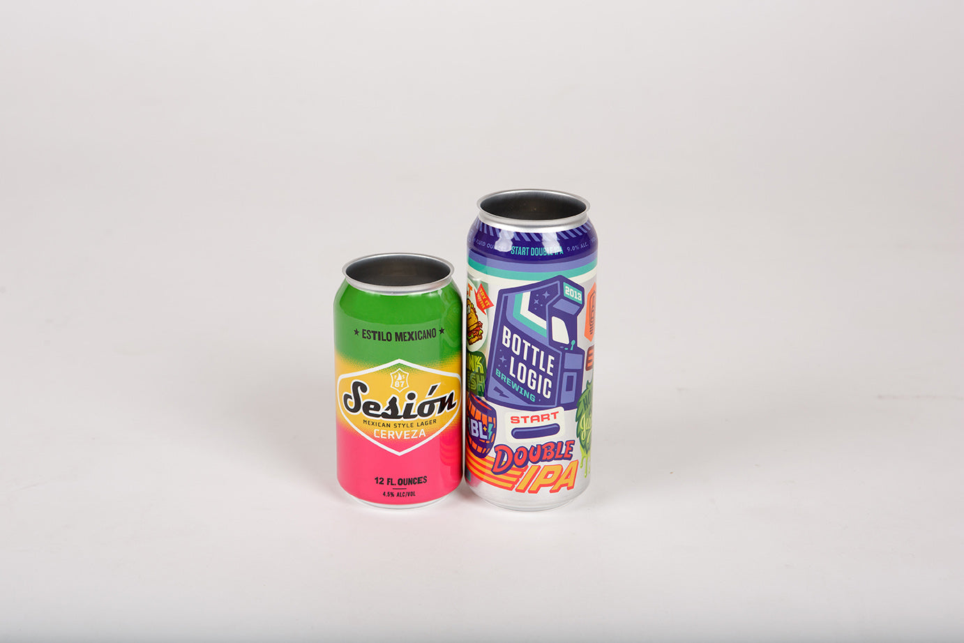 High Quality Shrink Sleeved Cans – Atlas Materials