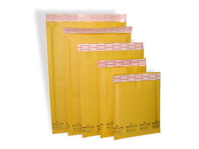 Bubble Kraft Mailers Self Seal