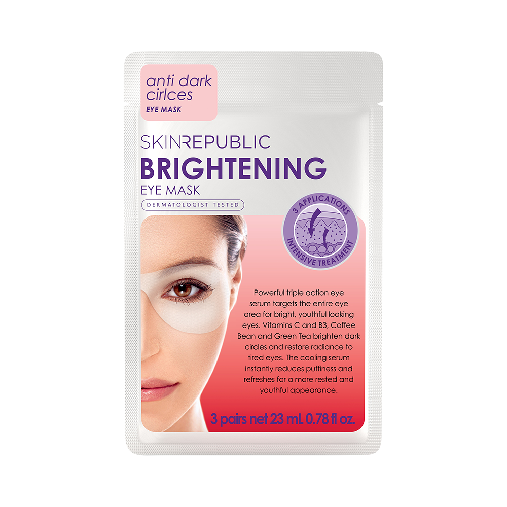 Brightening Eye Mask (3 Pairs) - Skin Republic South Africa