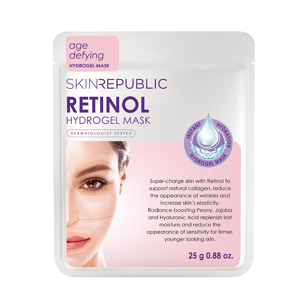 Retinol Hydrogel Face Mask - Skin Republic South Africa