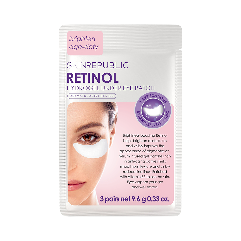 Retinol Hydrogel Under Eye Patch (3 Pairs) - Skin Republic South Africa