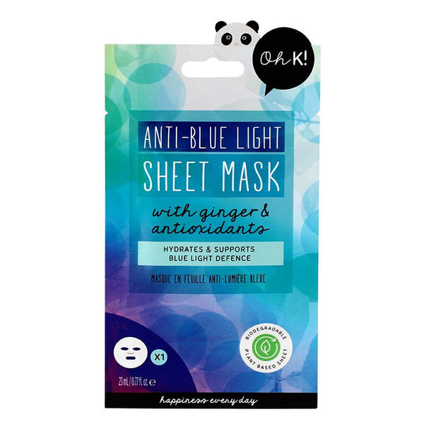 Anti-Blue Light Sheet Mask