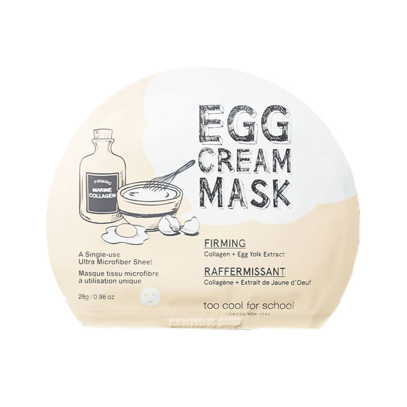 Egg Cream Masks