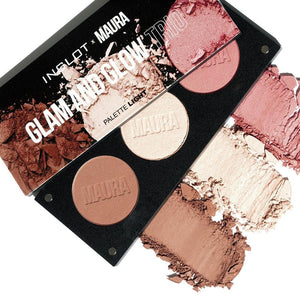Glam and Glow Trio Palette