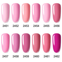 Load image into Gallery viewer, ROSALIND Gel Polish Set UV Vernis Semi Permanent Primer Top Coat 7ML Poly Gel Varnish Nail Art Manicure Gel Lak PolishesNails